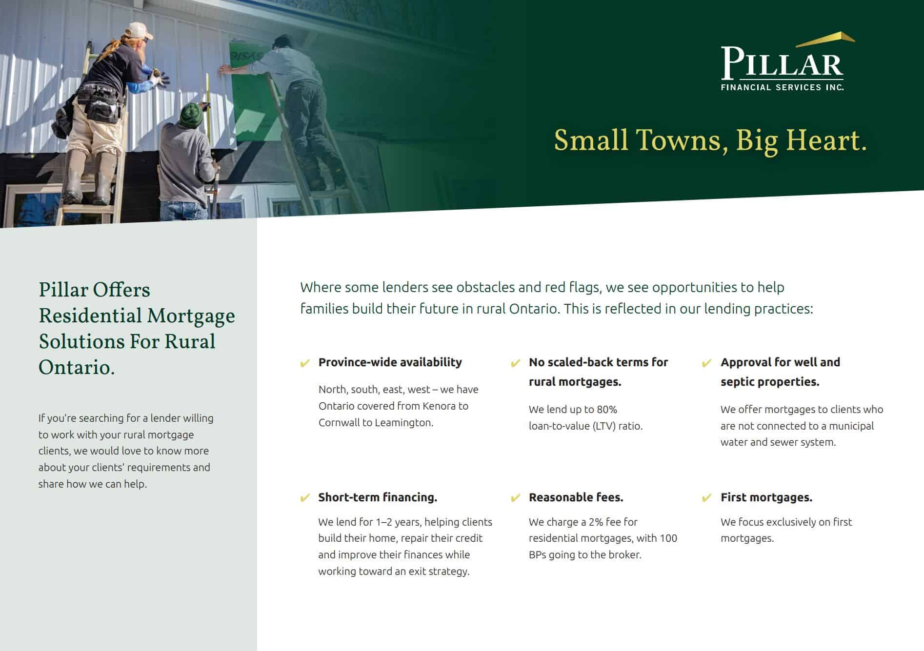 Residential Mortgage Solutions for Rural Ontario
